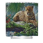 The Jaguar Shower Curtain