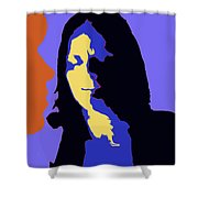 The Jazz Singer Shower Curtain
