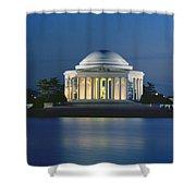 The Jefferson Memorial Shower Curtain