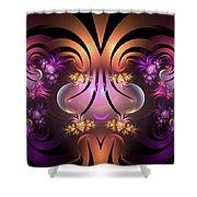 The Jesters Garden Shower Curtain