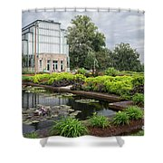 The Jewel Box At Forest Park Shower Curtain