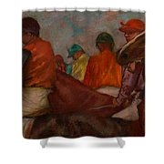 The Jockeys Shower Curtain