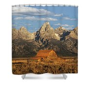 The John Moulton Barn Shower Curtain