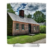The John Wells House In Wells Maine Shower Curtain