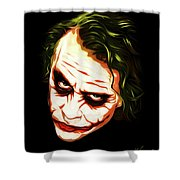 The Joker - Pop Art Shower Curtain