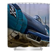 The Jolly Roger Shower Curtain