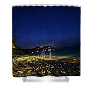 The  Jost At Night  Shower Curtain