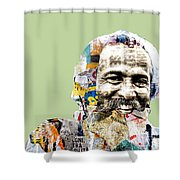 The Journalist Shower Curtain