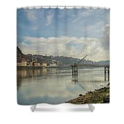 The Journey Into Porto Shower Curtain