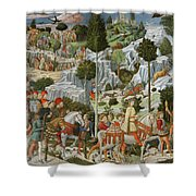 The Journey Of The Magi To Bethlehem Shower Curtain