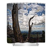 The Journey To Harney Peak Shower Curtain