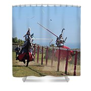 The Joust Shower Curtain