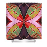 The Joy Of Design 42 Arrangement 1 Shower Curtain