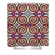 The Joy Of Design X L I Arrangement 3 Inverted Shower Curtain