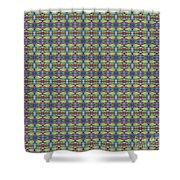 The Joy Of Design X X X I I I Arrangement 1 Tile 9x9 Shower Curtain