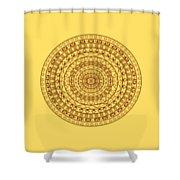 The Jungle Mandala Shower Curtain