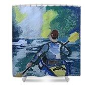 The Kayak Shower Curtain
