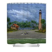 The Keeper's Friend Shower Curtain