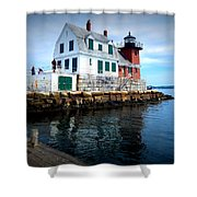 The Keeper's House Shower Curtain