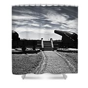 The Keepers Of Peace Shower Curtain