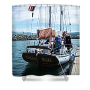 The Ketch Golden Rule Shower Curtain
