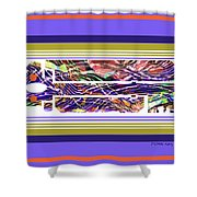 The Key Of Abstraction Shower Curtain