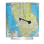 The Key To The City Shower Curtain