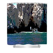 The Keyhole Mexico Cabo San Lucas Shower Curtain