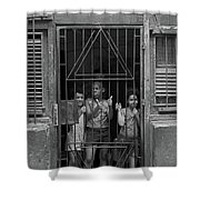 The Kids At Number 652 Shower Curtain