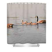 The Kids Day Out Shower Curtain