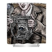 The King Of Cameras Shower Curtain