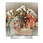 The King Of Kings Shower Curtain