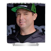 The King Of Supercross Shower Curtain