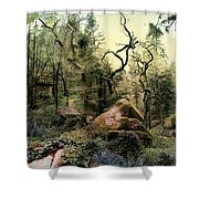 The King's Forest Shower Curtain