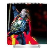 The King's Knight Shower Curtain