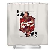 The Kings - Michael Jackson Shower Curtain
