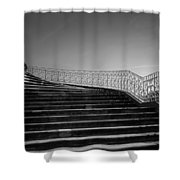 The Kings Steps Shower Curtain