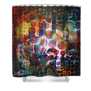 The Kiss - Woods And Sea Shower Curtain