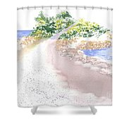 The Knob In Falmouth Shower Curtain