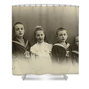 The Konstantinovichi Children Shower Curtain