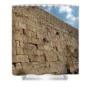 The Kotel - Western Wall In Jerusalem Shower Curtain