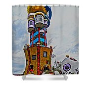 The Kuchlbauer Tower Shower Curtain