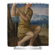 The Labours Of The Months   May Shower Curtain