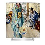 The Lady And Sada San Shower Curtain