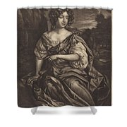The Lady Essex Finch Shower Curtain