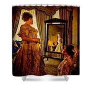 The Lady Of The House Shower Curtain