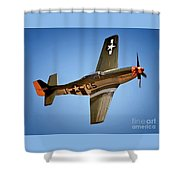 The Lady Roars Shower Curtain
