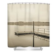 The Lake #22 Shower Curtain