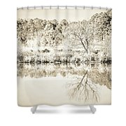 The Lake #47 Shower Curtain