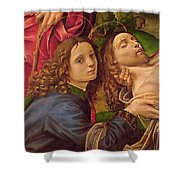 The Lamentation Of Christ Shower Curtain